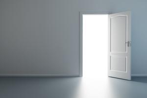 Wallpaper-style-minimalism-door-design-door-lights-walls-wall